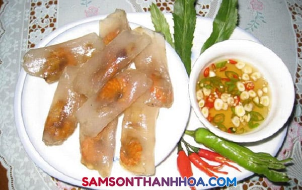 Bánh bột lọc Thanh Hoá