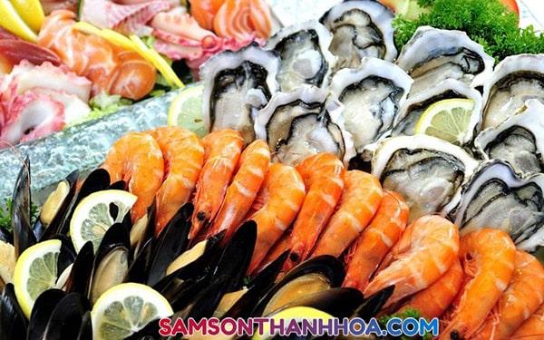 Hải sản tươi sống thơm ngon