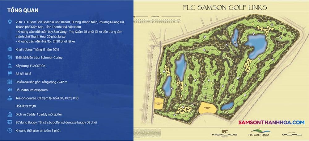 Sơ đồ sân Golf FLC Sầm Sơn