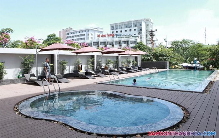 Bê bơi dành cho khách nghỉ