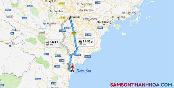 Cung đường phượt Hà Nội - Sầm Sơn
