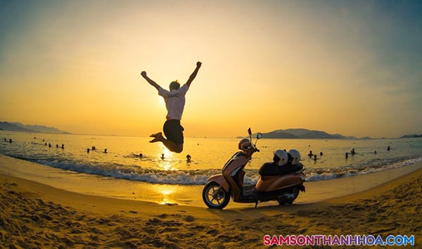 Đi Sầm Sơn bằng xe máy