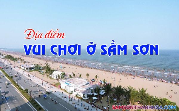 Địa điểm vui chơi ở Sầm Sơn
