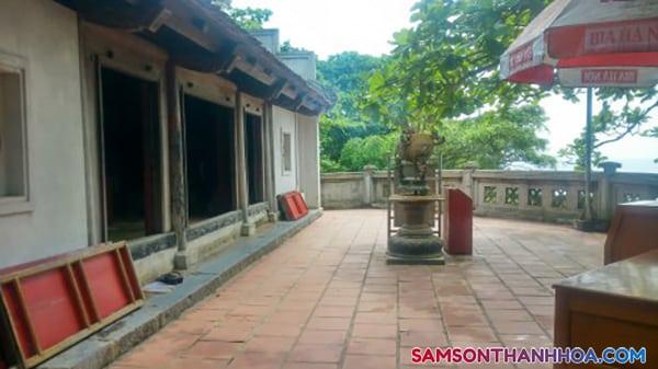 Điện chính Chùa Cô Tiên Sầm Sơn