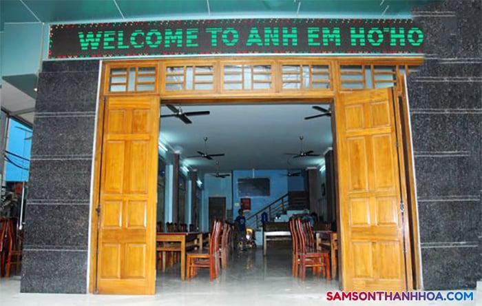 Khách sạn Anh Em Sầm Sơn
