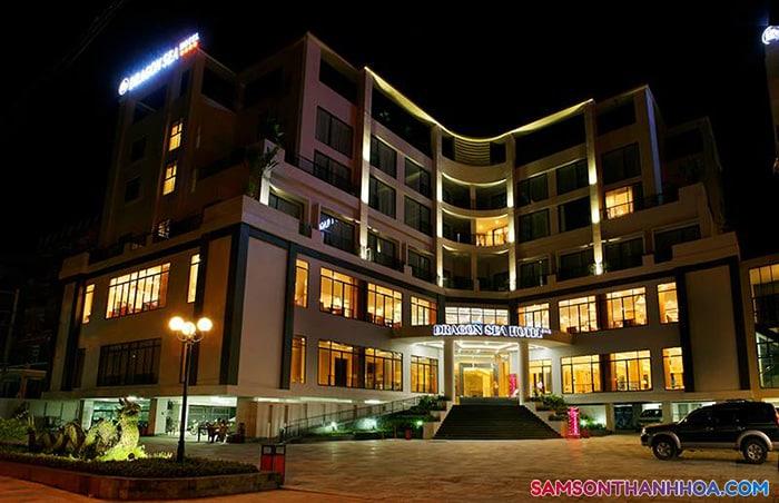 Khách sạn Dragon Sea Sầm Sơn về đêm