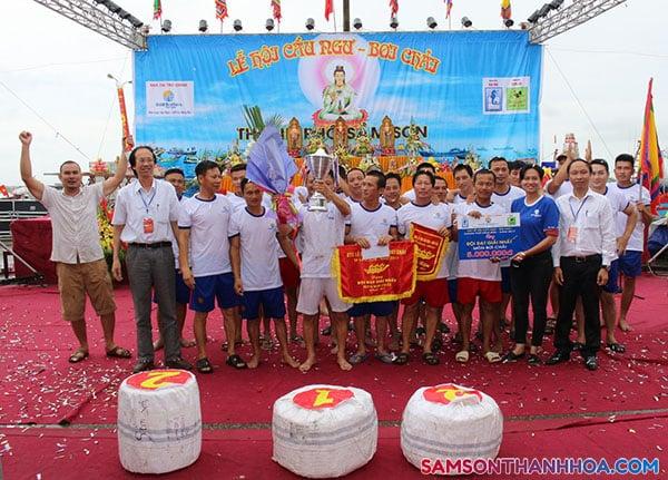 Lễ hội cầu ngư bơi chải Sầm Sơn