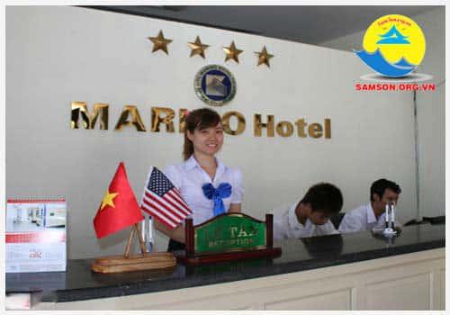 Lễ tân khách sạn Marino