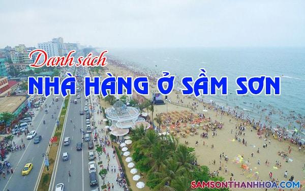 Danh sách nhà hàng Sầm Sơn Thanh Hoá