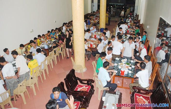 Phòng ăn tập thể phục vụ ăn uống tại khách sạn