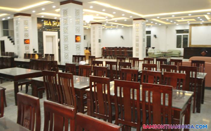 Khu vực phòng ăn tại tầng 2