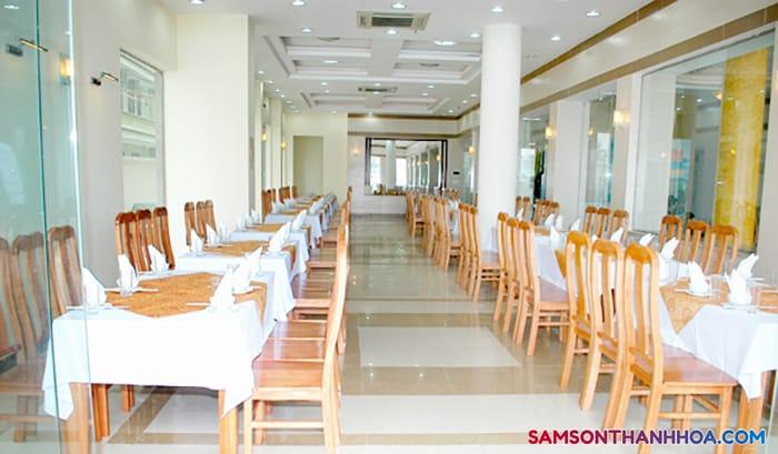 Phòng ăn phục vụ những món ăn đặc sản ngon nhất
