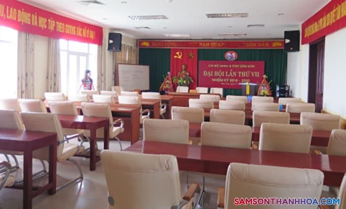 Phòng họp cỡ nhỏ