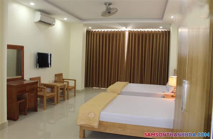 Phòng nghỉ, hiện đại, sang trọng và đầy đủ tiện nghi