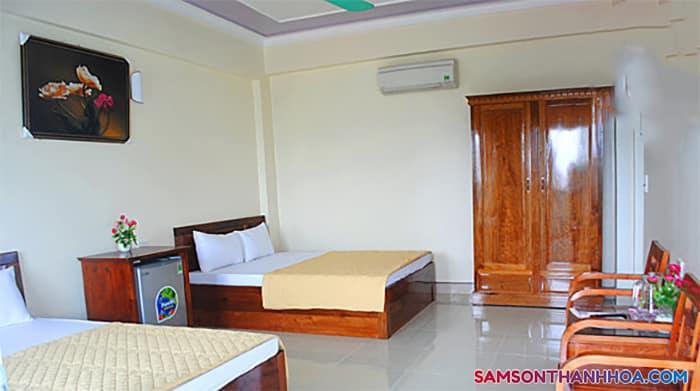Phòng ngủ đôi với 2 giường cỡ lớn