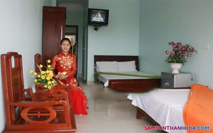Phòng nghỉ rộng rãi, thoải mái