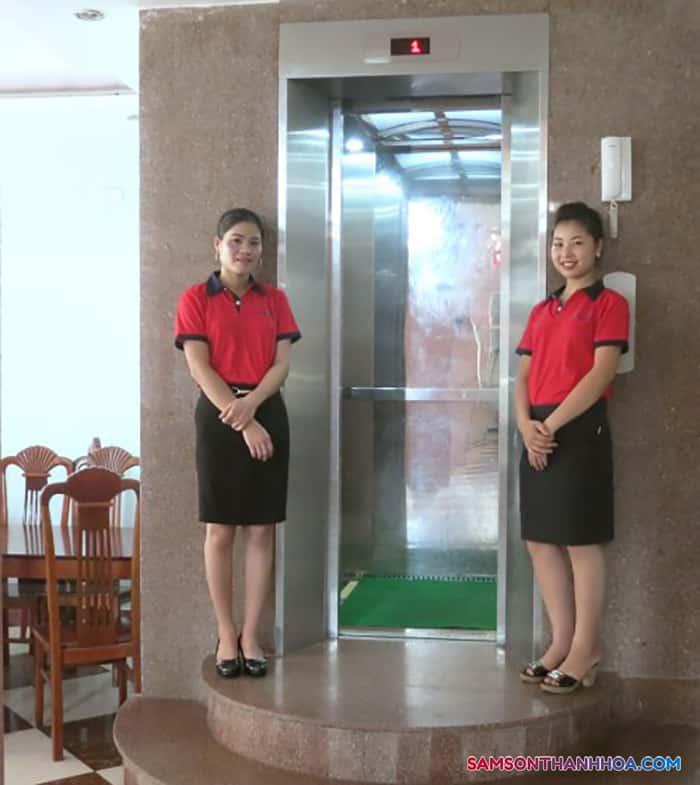 Thang máy dành riêng cho khách nghỉ