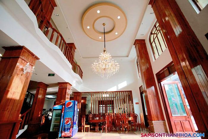Khu vực tiền sảnh khách sạn