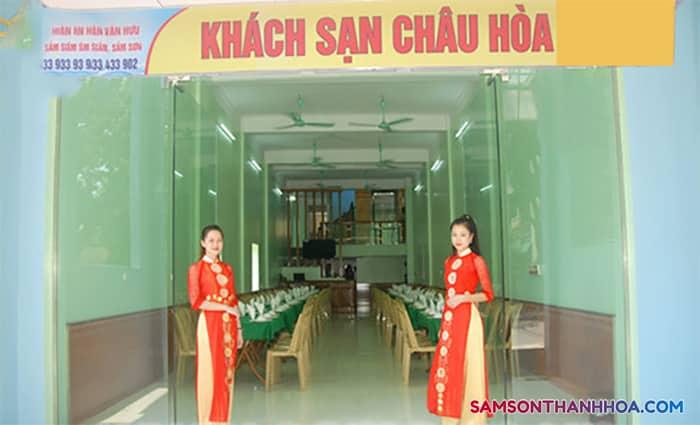 Khách sạn Châu Hoà Sầm Sơn