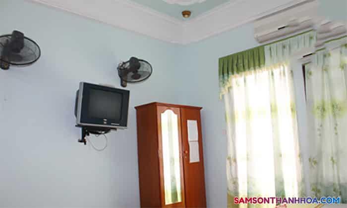Trang thiết bị bên trong phòng nghỉ