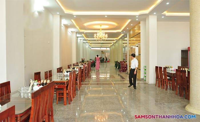 Phòng ăn phục vụ những món ăn hải sản ngon nhất