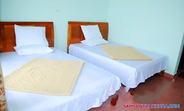 Phòng nghỉ với 2 giường đôi