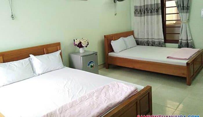 Phòng nghỉ khách sạn Biển Xanh Sầm Sơn