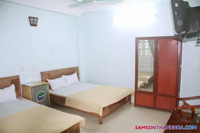 Không gian bên trong phòng nghỉ