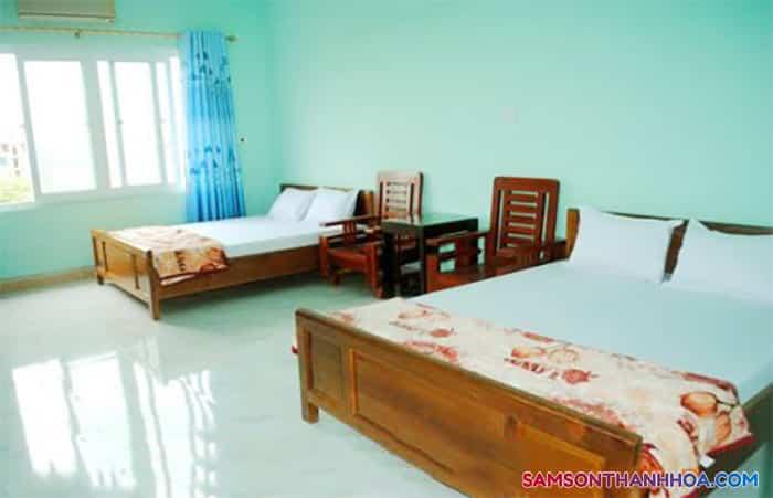 Phòng nghỉ thông thoáng, đón gió biển