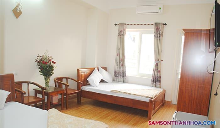 Phòng nghỉ với trang thiết bị tiện nghi nhất