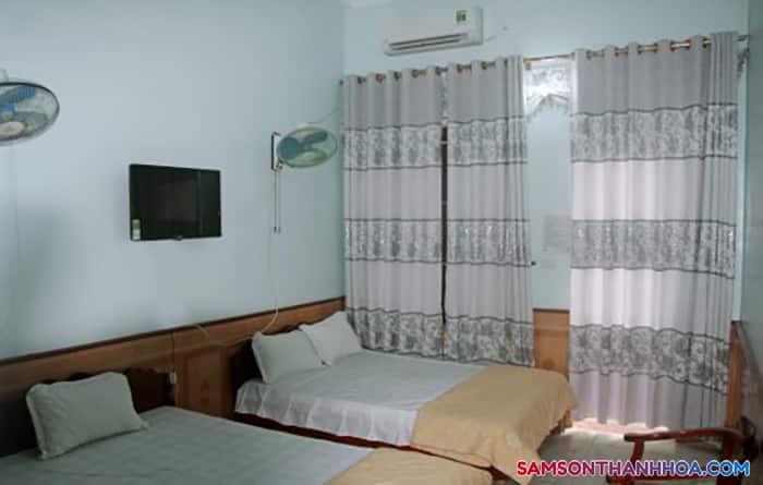 Phòng nghỉ vô cùng tiện nghi