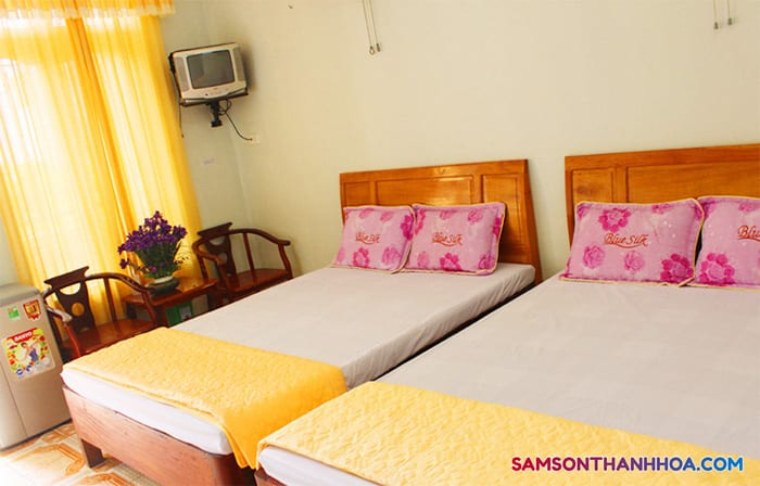 Phòng nghỉ khách sạn Minh Vân