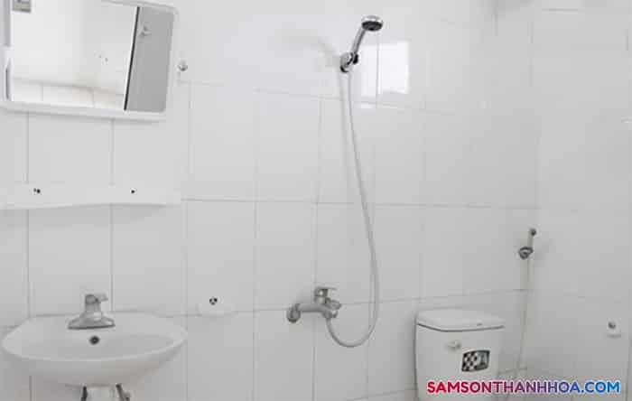Trang thiết bị được lắp đặt trong phòng tắm