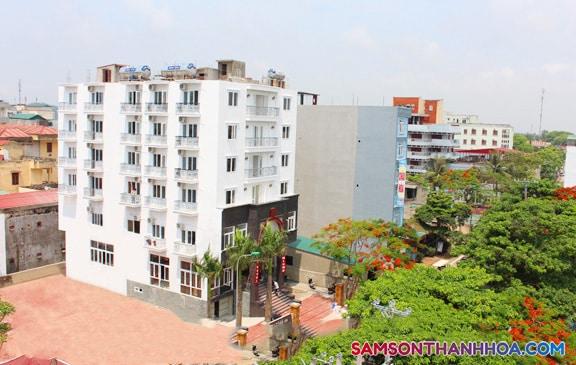 Toàn cảnh khách sạn Crown Sầm Sơn