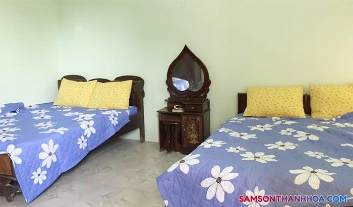 Phòng nghỉ Hoa Homestay Sầm Sơn