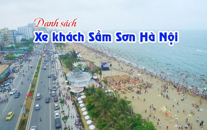 Xe khách Sầm Sơn Hà Nội