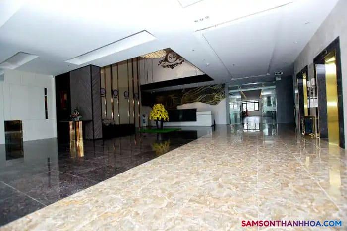 Đại sảnh nơi tiếp đón du khách cửa khách sạn