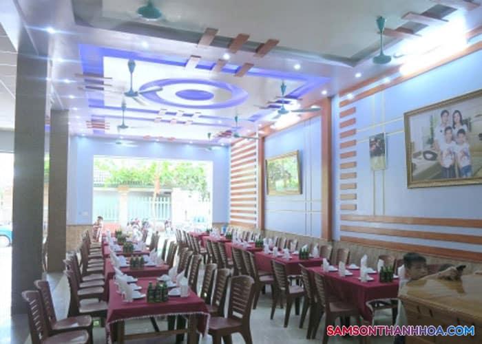 Nhà ăn khách sạn CHâu Thúy Sầm Sơn
