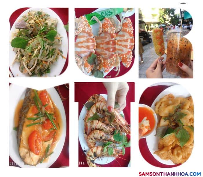 Món ăn hải sản của khách sạn