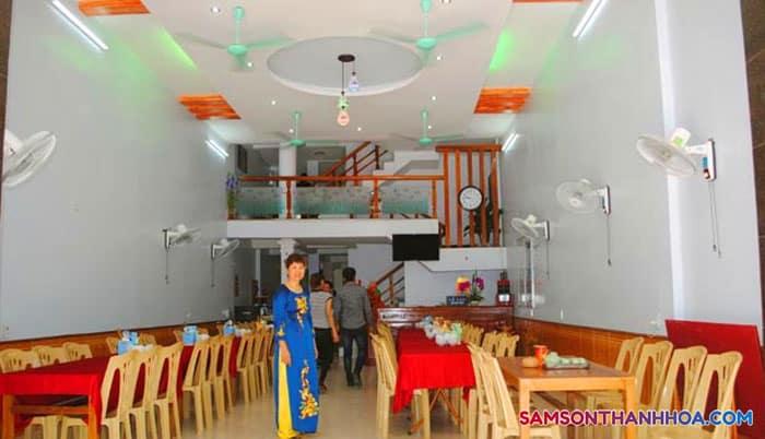 Nhà ăn của khách sạn Sao Mai Sầm Sơn