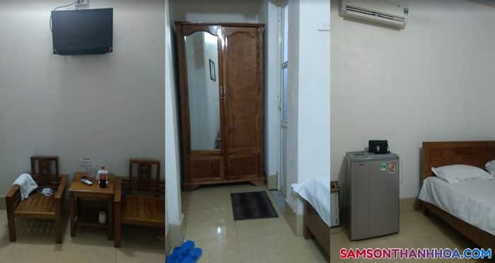 Nội thất phòng nghỉ khách sạn Biển Đông Sầm Sơn