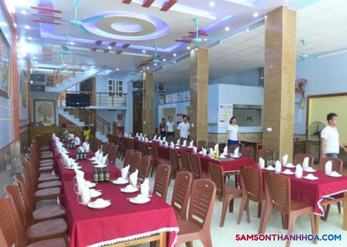 Nội thất phòng ăn khách sạn Châu Thúy