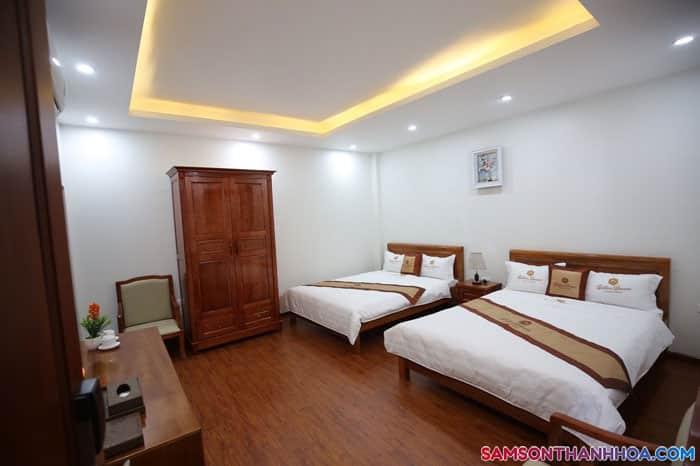 Phòng ngủ 2 giường đôi rộng và ấm áp