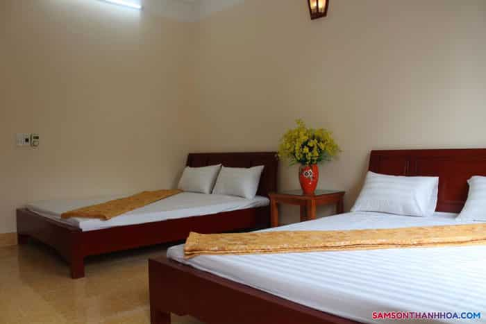 Giường ngủ của khách sạn