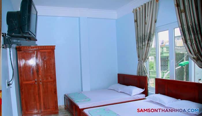 Phòng nghỉ của khách sạn Sao Mai