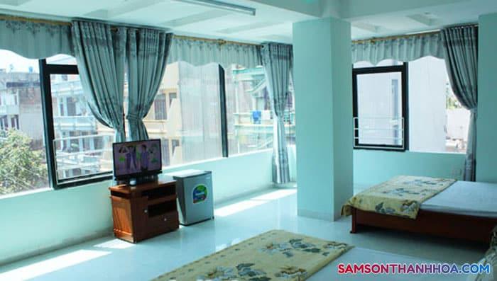 Phòng ngủ với ánh sáng chan hòa