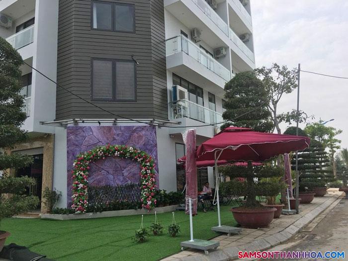 Tòa nhà của khách sạn Golden Sầm Sơn
