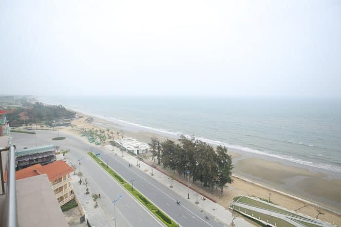 View ngắm biển của khách sạn