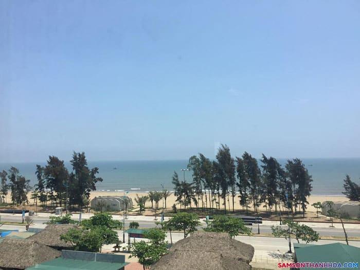 View nhìn ra hướng biển của khách sạn