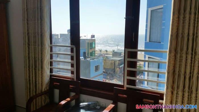 Phòng nghỉ có view hướng biển